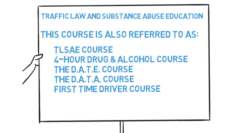 drug and alcohol course for drivers license